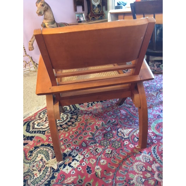 1950's Scandinavian Mid - Century Modern Beechwood Chair For Sale In Austin - Image 6 of 13
