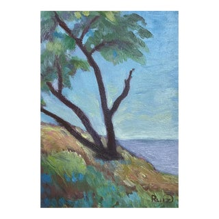 "Original Oil Painting ""Along the Coast in Maui"""