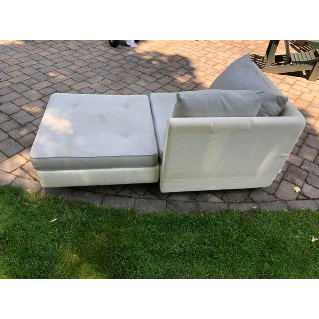 1990s Mid-Century Modern Ligne Roset Nomade by Didier Gomez Chaise For Sale In Boston - Image 6 of 11