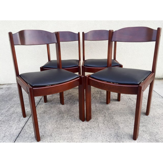 Restored Mid-Century Modern Dining Chairs - 4 - Image 2 of 8