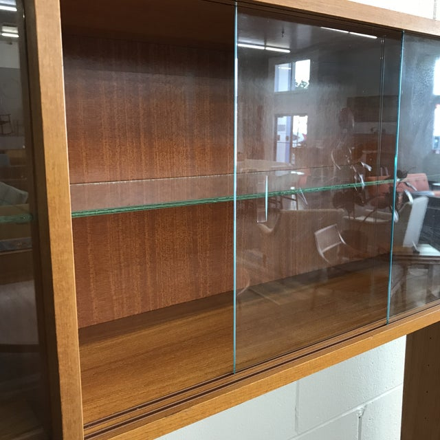 Danish Modern Freestanding Wall Unit For Sale - Image 10 of 11