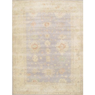 """Pasargad N Y Oushak Design Hand-Knotted Rug - 9'2"""" X 12'2"""""""