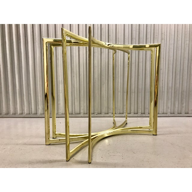 Hollywood Regency Brass Table Base - Image 2 of 9