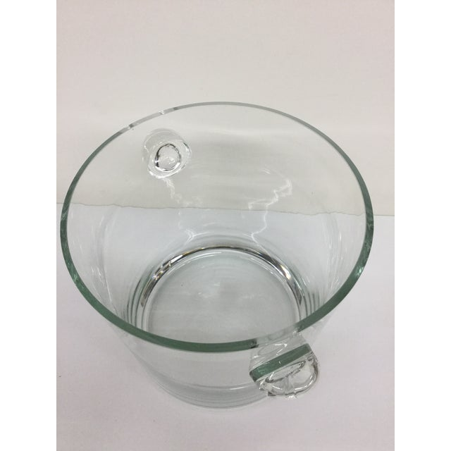 1920 Art Deco Crystal Ice Bucket For Sale In Boston - Image 6 of 9