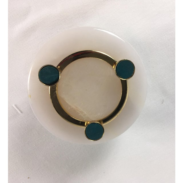 Italian 1950s Italian Onyx Ring Box For Sale - Image 3 of 7