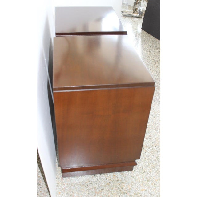 1930s French Art Deco Moderne Night Stands - a Pair For Sale - Image 9 of 13