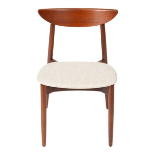 1960s Single Teak Dining / Accent Chair by Harry Østergaard for Randers Møbelfabrik For Sale