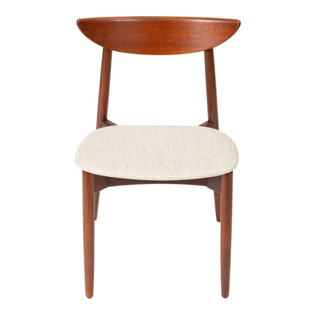 1960s Single Teak Dining / Accent Chair by Harry Østergaard for Randers Møbelfabrik For Sale