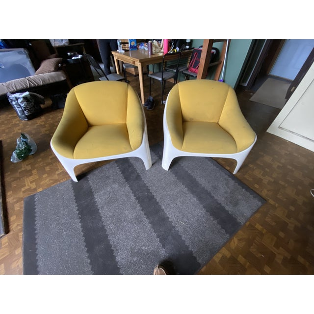 Plastic 1960s Sergio Mazza Lounge Chairs - A Pair For Sale - Image 7 of 7