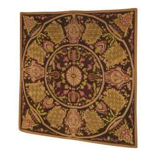 Antique Hand Made Flemish Style Tapestry