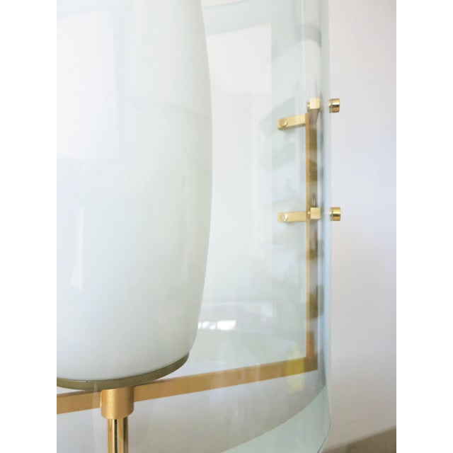 Italian Beveled Table Lamp For Sale In Palm Springs - Image 6 of 8