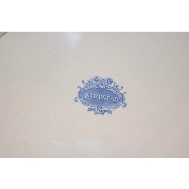 """Early 19th Century 1830s """"Etruscan"""" Platter For Sale - Image 5 of 6"""
