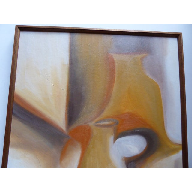 Abstract Contemporary Abstract Still Life Painting - For Sale - Image 3 of 6