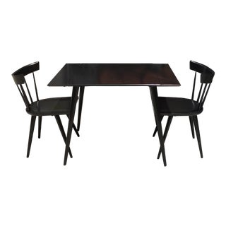 Paul McCobb Black Dining Set For Sale