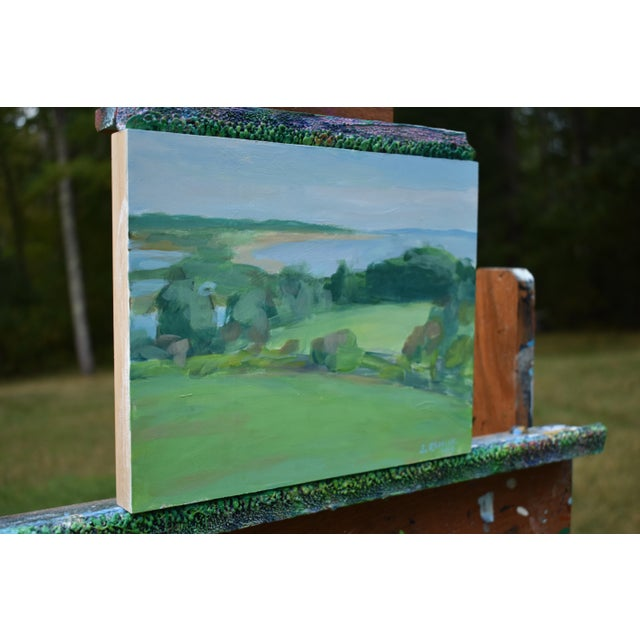 """Stephen Remick Contemporary """"Surf N Turf"""" Plein Air Painting by Stephen Remick For Sale - Image 4 of 8"""