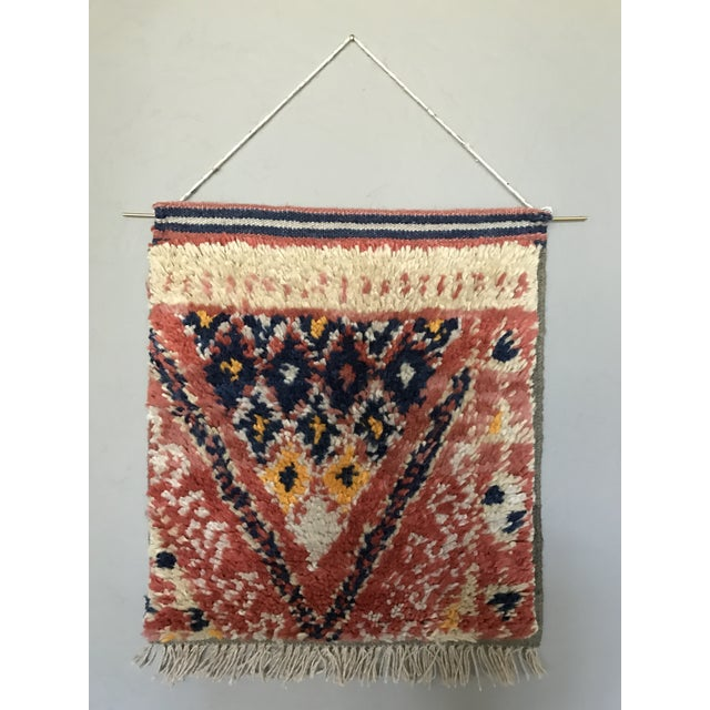 Hand Knotted Wall Weaving - Image 2 of 3