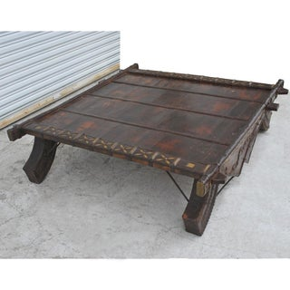 Vintage Asian Bullock Cart Coffee Table Preview