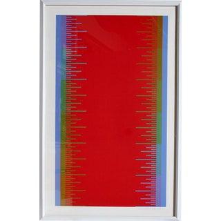 Richard Anuszkiewicz - Olympics FramedSerigraph For Sale