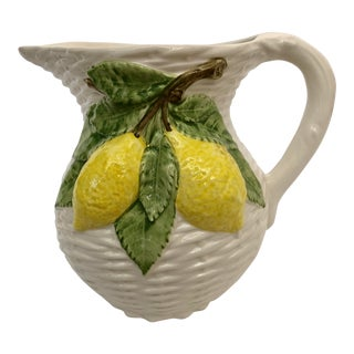 Ceramic Italian Lemon Pitcher