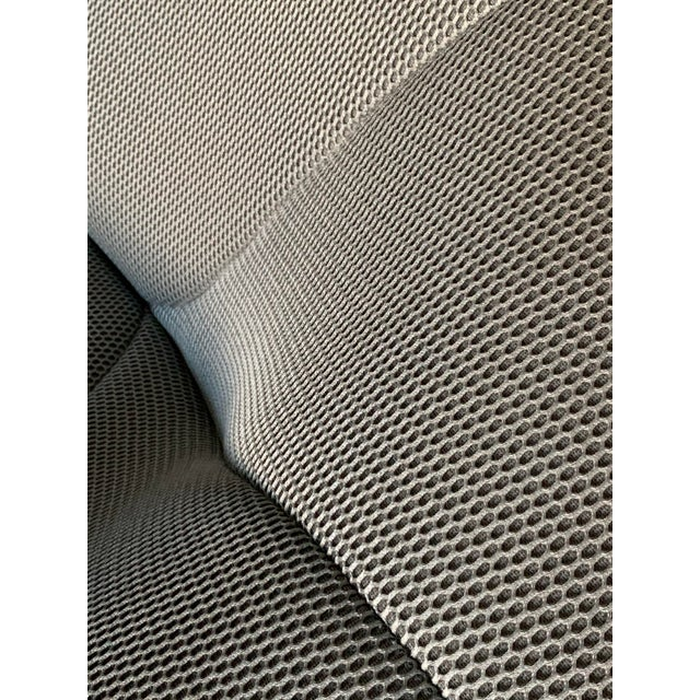 Textile Ligne Roset Pumpkin Armchair in Techno Silver by Pierre Paulin For Sale - Image 7 of 9