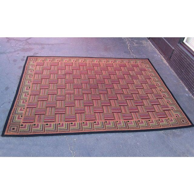 "Basket Weave Pattern Rug - 8'8"" x 10'3"" - Image 3 of 6"