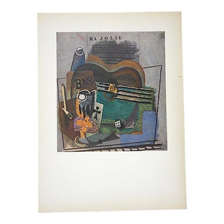 Vintage Mid 20th Century Georges Braque Lithograph-Folio Size For Sale