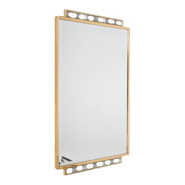 Art Deco Wall-Mirror For Sale