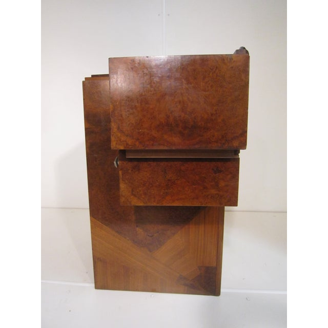 Early 20th Century French Art Deco Writing Vanity Desk For Sale - Image 4 of 13