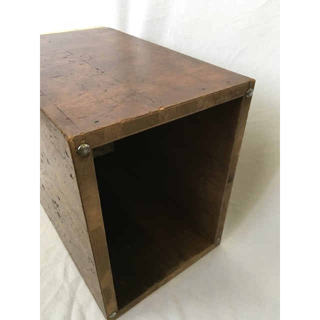 Etched Top Side Table - Image 6 of 7