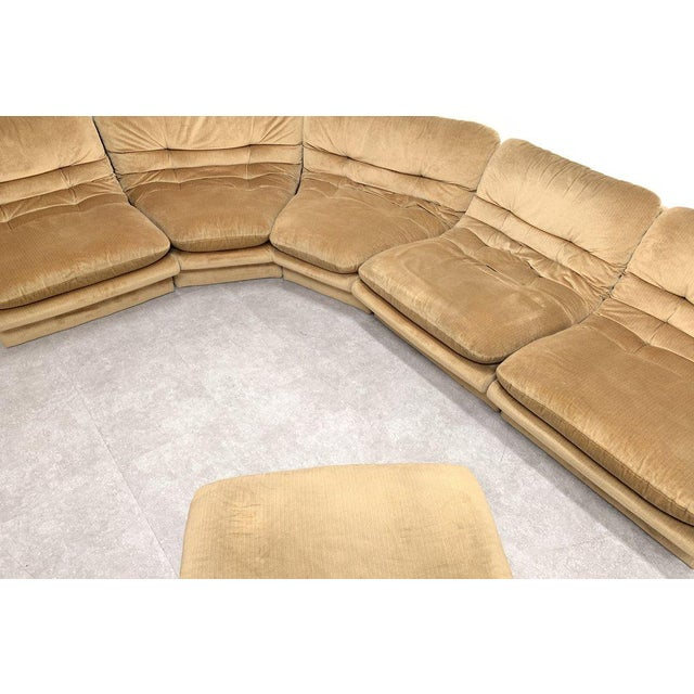 1980s Vladimir Kagan Modular Sofa For Sale - Image 5 of 7