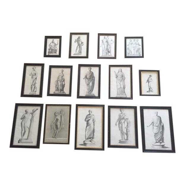 Antique Framed Prints - Set of 14 - Image 1 of 5