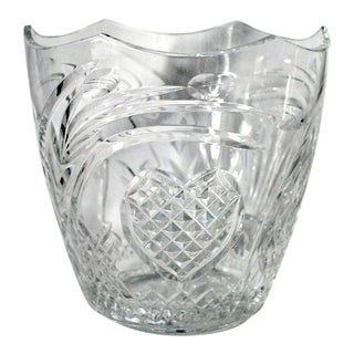 Waterford Crystal Celebration Champagne Cooler / Ice Bucket For Sale