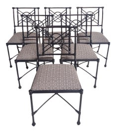 Image of American Classical Outdoor Chairs