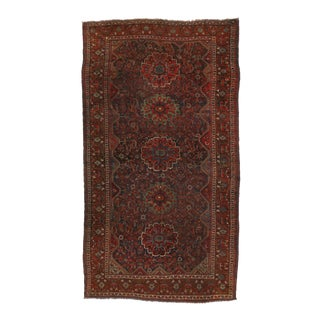 Antique Persian Shiraz Gallery Rug with Modern Design