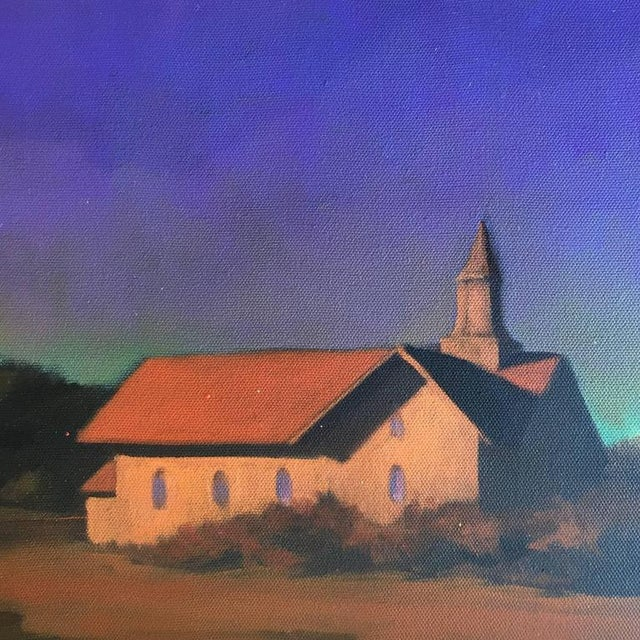 """""""Chapel on the Pond, North Truro"""" Painting - Image 4 of 7"""