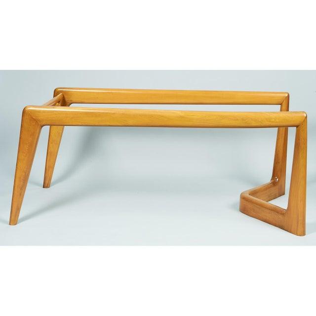 1950s Mid-Century Modern Pierluigi Giordani Biomorphic Dining Table For Sale - Image 10 of 13