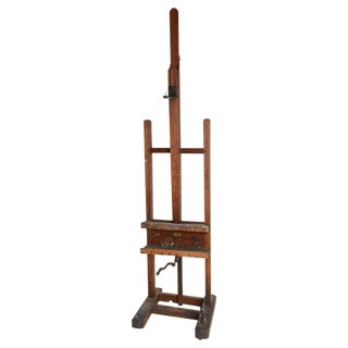 19th Century Large Artist's Easel