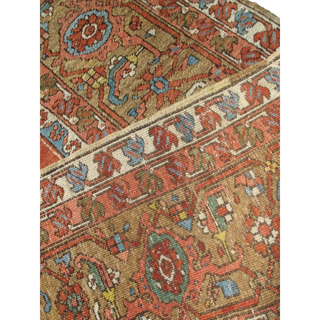 Traditional Serapi (Heriz) Carpet For Sale - Image 3 of 7