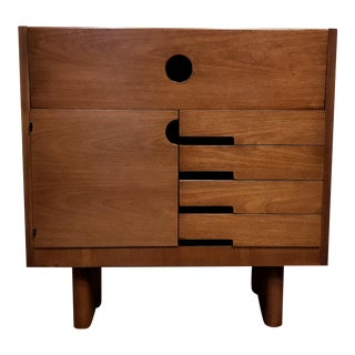 Gilbert Rohde for Herman Miller Art Deco Cabinet Secretary For Sale