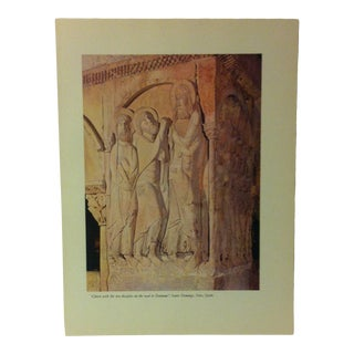 """1957 """"Christ With the Two Disciples on the Road to Emmaus"""" the Influence of the Shell on Humankind Print For Sale"""