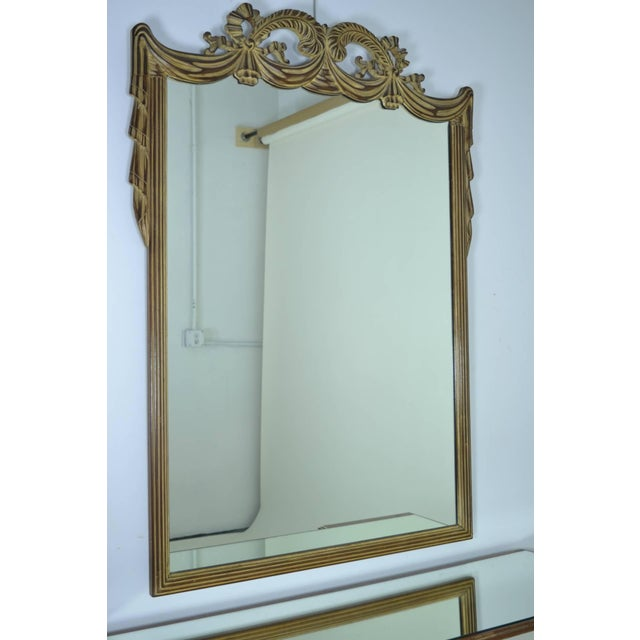 Grosfeld House Vanity and Mirror, circa 1940s - Image 3 of 9