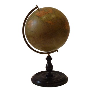 Philips Tabletop World Globe For Sale