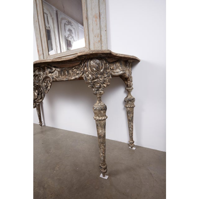 18th Century Italian Baroque Console For Sale - Image 9 of 10