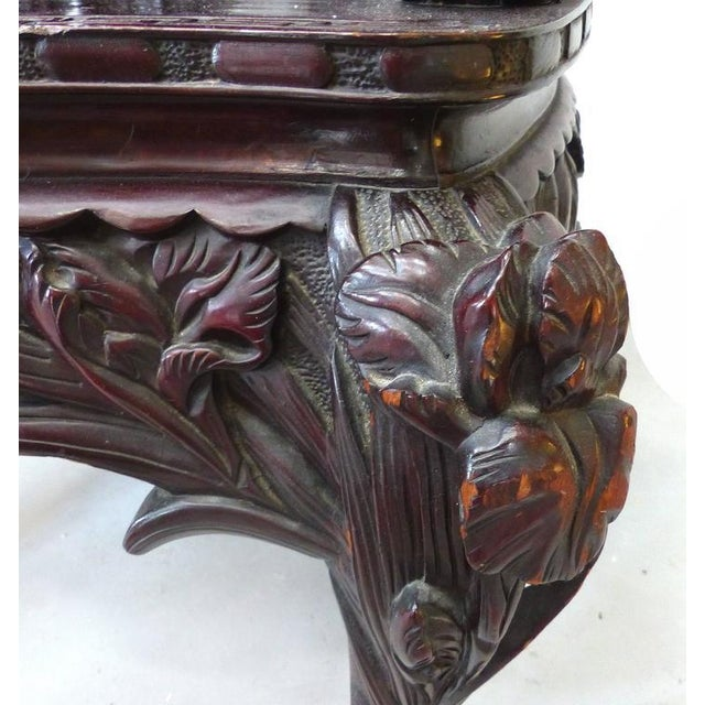 Late 19th Century Japanese Meiji Throne Chair For Sale - Image 9 of 11
