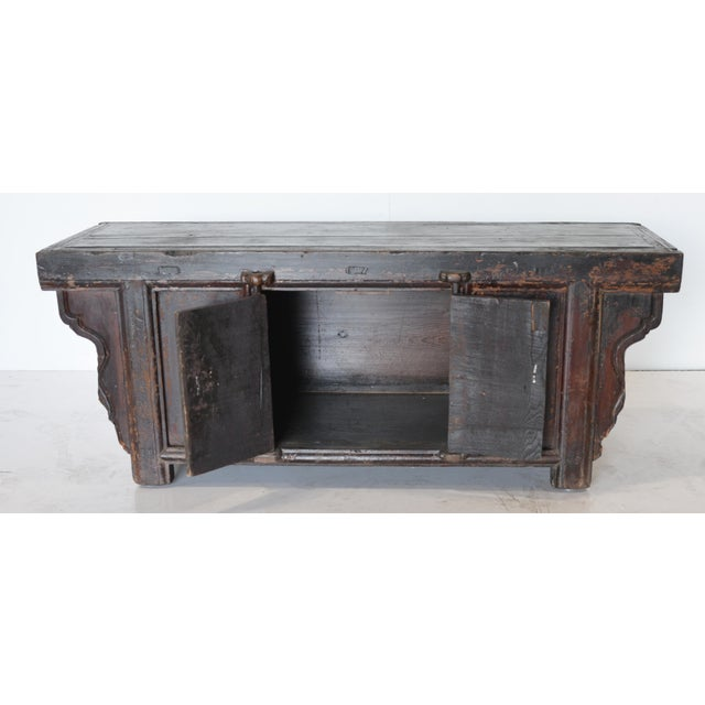 This was someone's simple yet sweet alter table that's wasat the center of their faith for many years. With it's rustic...