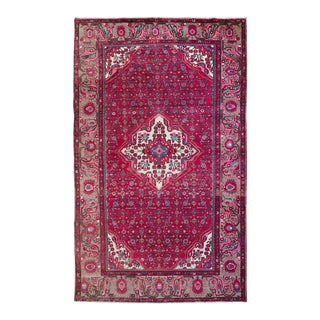 Tirab Persian Hamadan Rug - 6′8″ × 11′1″
