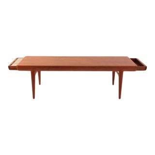 1950s Mid-Century Modern Johannes Andersen Teak Cocktail Table For Sale