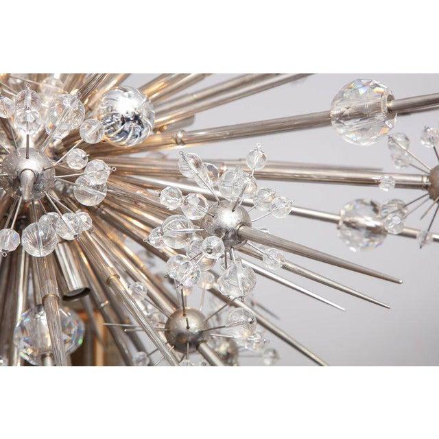 Custom Austrian Crystal Spiked Sputnik For Sale In New York - Image 6 of 10