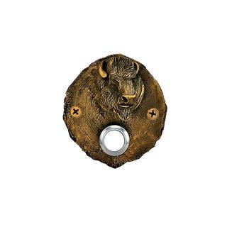 Log End Buffalo Doorbell For Sale