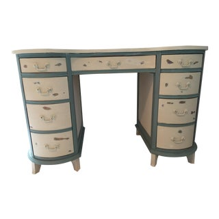 Vintage Shabby Chic Desk For Sale